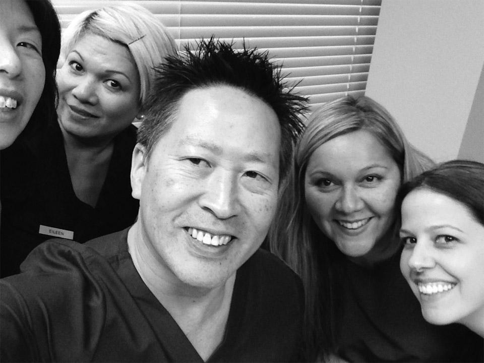 Dr. Wayne Chou and His Team